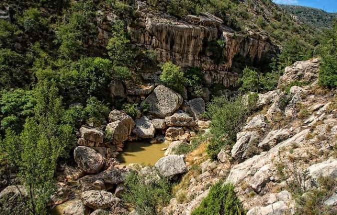 Las Hoces del río Guadalope, en Teruel