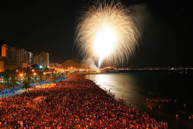 La Noche de San Juan en Alicante