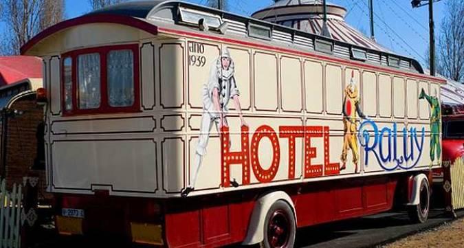 Un hotel para los amantes del circo en Tarragona