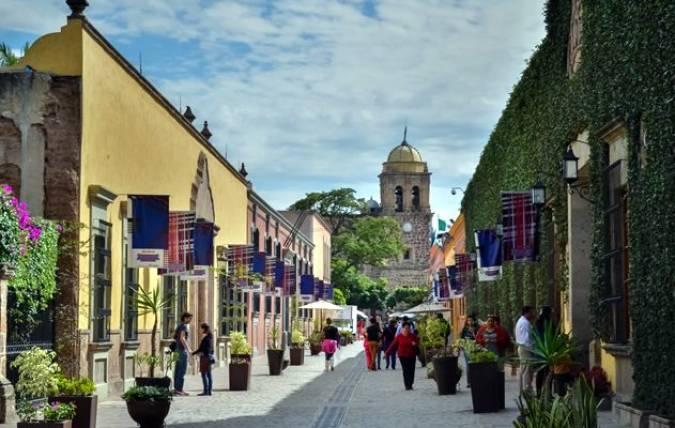 El pueblo de Tequila, en Jalisco, México