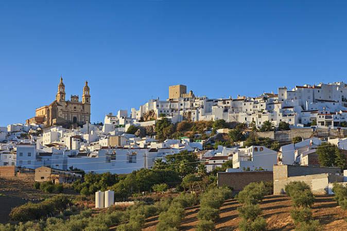 El pueblo blanco de Olvera, en la Sierra de Cádiz