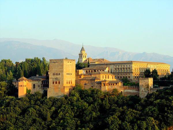 La Alhambra, en Granada, Andalucía
