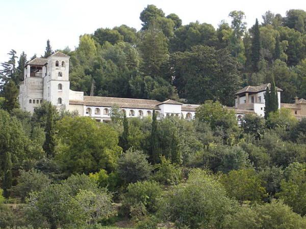 El Generalife, en Granada, Andalucía