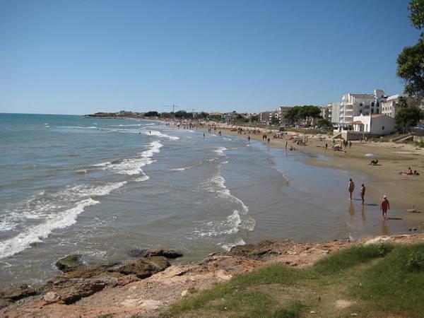 Playa del Carregador, en Alcocéber, Castellón