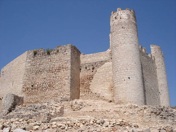 Castillo de Xivert, enAlcalá de Xivert, Castellón