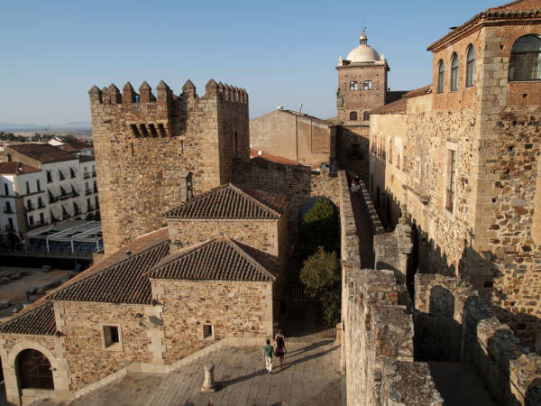 La ciudad de Cáceres, en Extremadura