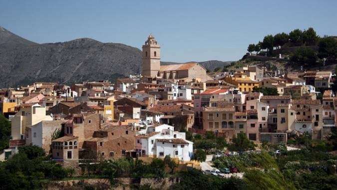 La localidad de Finestrat, en Alicante