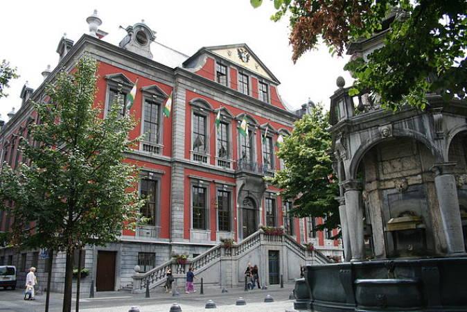 Ayuntamiento de Lieja, en Bélgica