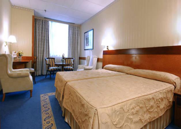 Hoteles baratos en madrid cerca del aeropuerto for Gimnasios baratos madrid