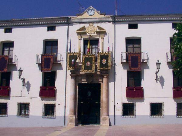 Ayuntamiento de Utiel, en Valencia