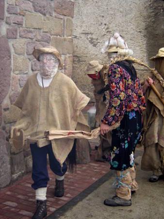 Carnaval de Lantz, en Navarra