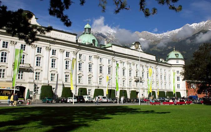 Palacio Hofburg, en Innsbruck, Austria