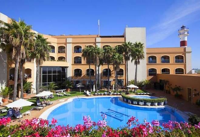 Hotel Duque de Nájera, en Rota, Cádiz