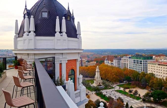 Las mejores terrazas de azotea de madrid for Azoteas madrid