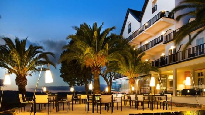 Hotel reina Victoria, en Ronda