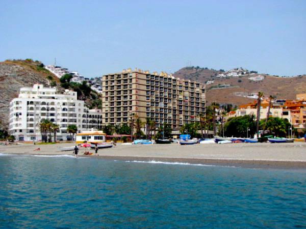 Hoteles de playa en almu car granada - Apartamentos en granada playa ...