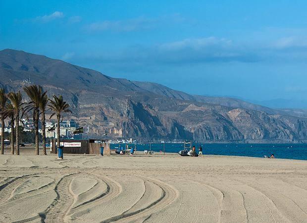 Roquetas de Mar, en Almería