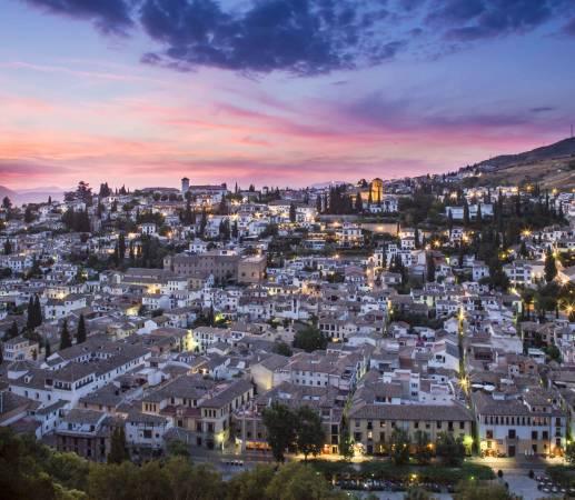 Los hoteles mejor valorados de Granada
