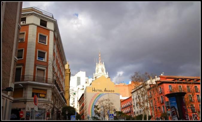 Hotel Anaco, en Madrid