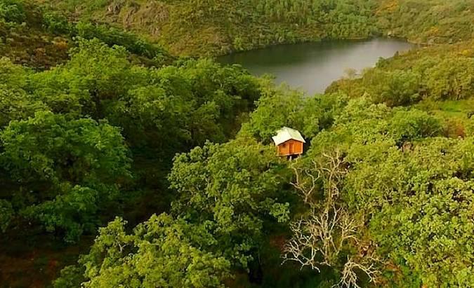 Dormir en los Árboles, en Cáceres