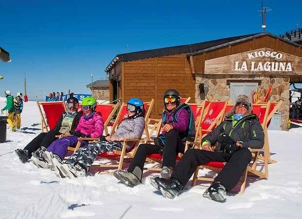 Hoteles para esquiar en primavera en España