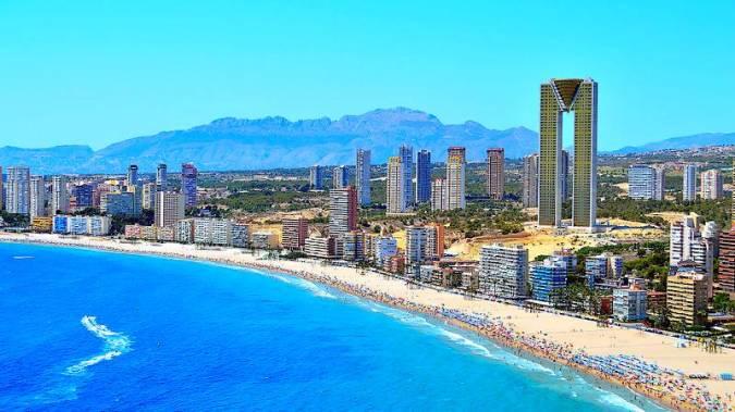Tres hoteles de playa al mejor precio en Benidorm