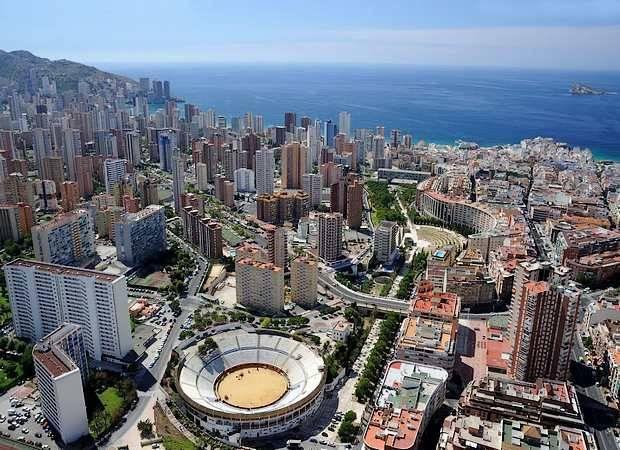 La localidad de Benidorm, en Alicante
