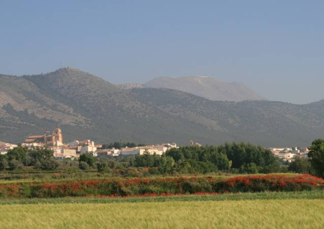 Huéscar, en la provincia andaluza de Granada