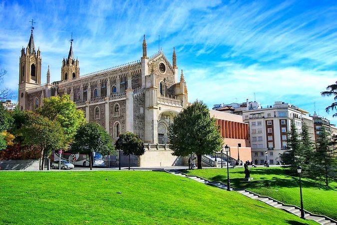 La Iglesia de San Jerónimo el Real, en Madrid