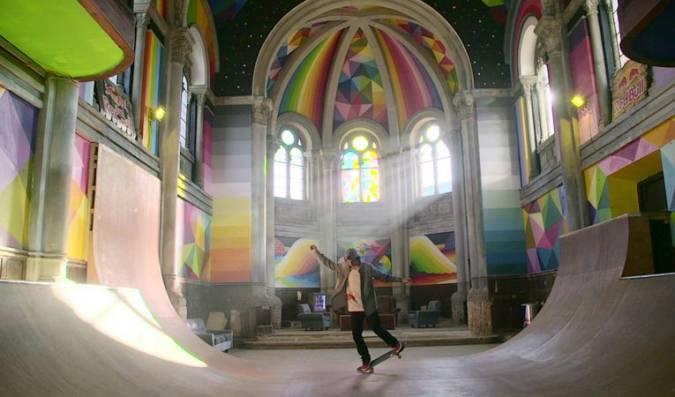 La Iglesia Skate de Llanera, en Asturias