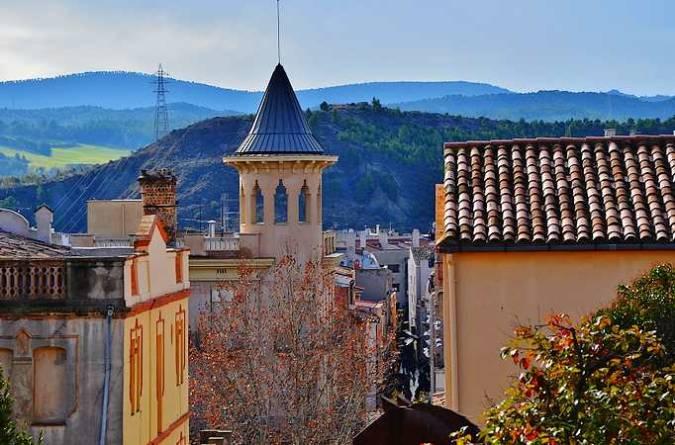 La ciudad de Igualada, en Barcelona