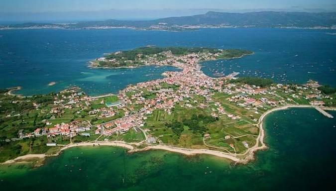 La Isla de Arousa, en Pontevedra