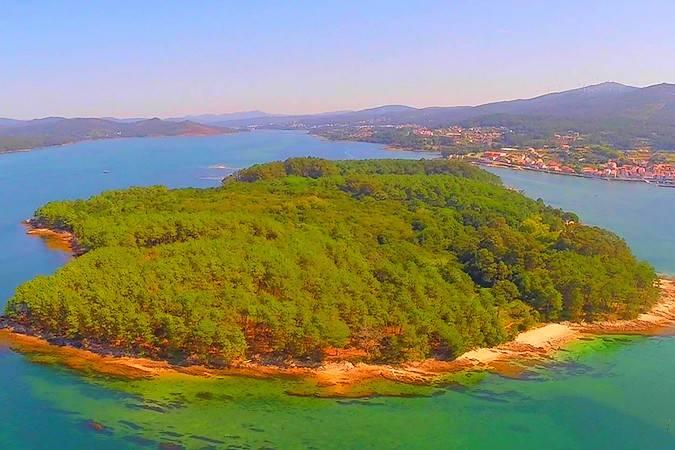 La isla gallega de Cortegada, pura naturaleza