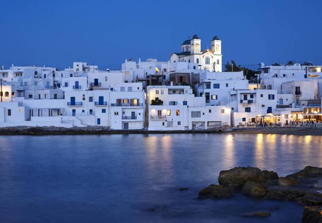 Paros, el corazón de las islas Cícladas en el Egeo