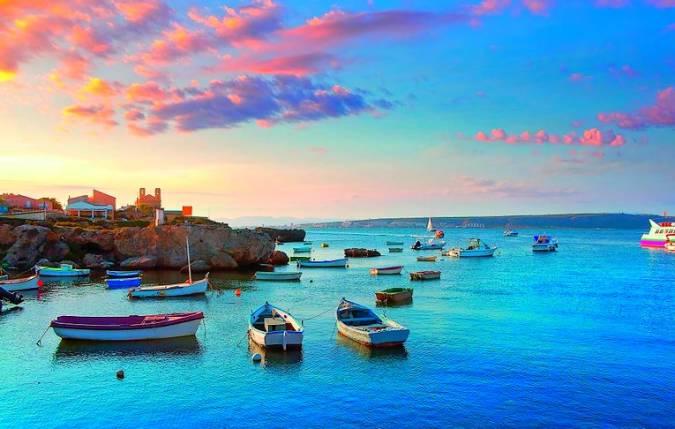 La isla de Tabarca, en Alicante