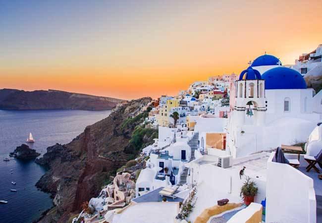 Islas Griegas: el paraíso está en Santorini