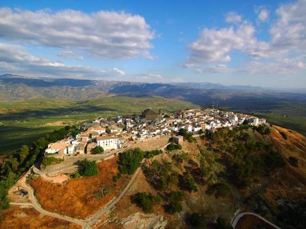 El pueblo de Iznatoraf, en Jaén