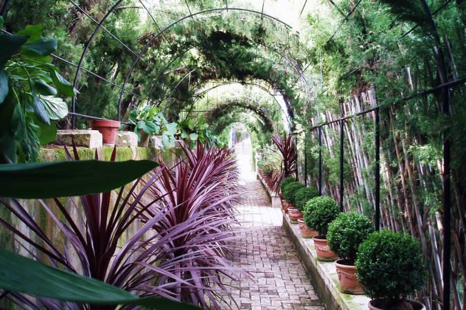 El Jardín de Santos, romanticismo en estado puro