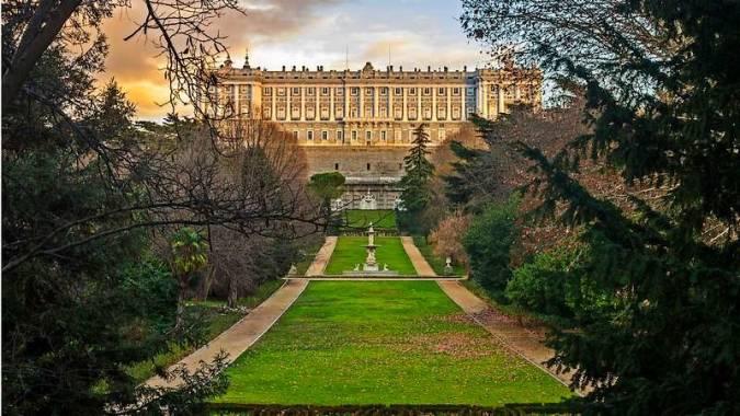 Los Jardines del Campo del Moro, en Madrid