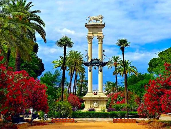 Los Jardines de Murillo, en Sevilla