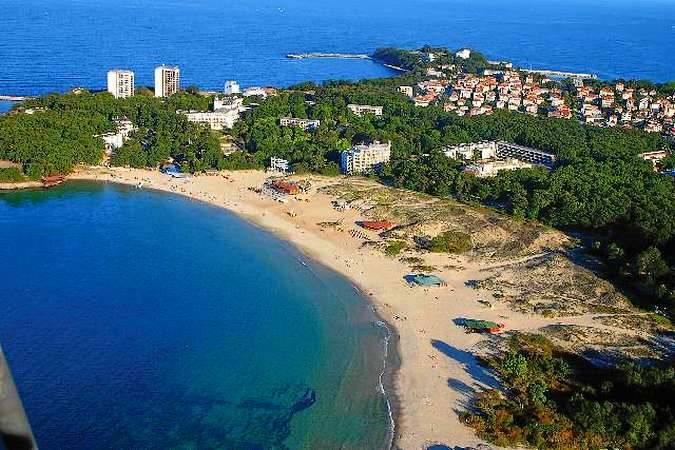 La ciudad costera de Kiten, en Bulgaria