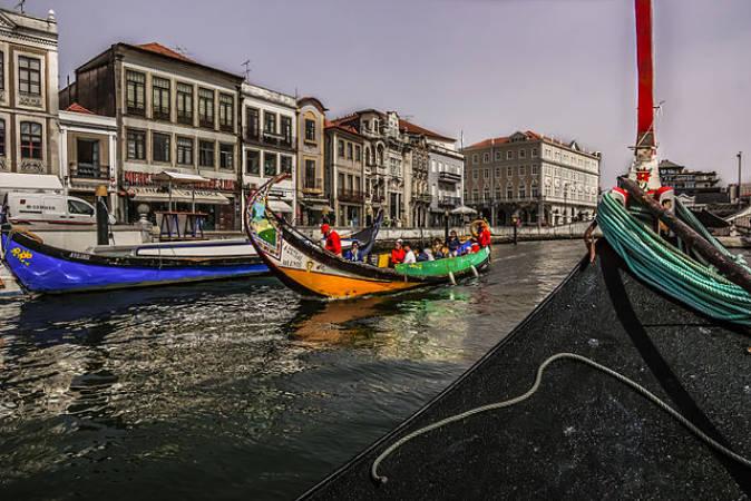 La ciudad de Aveiro, la Venecia de Portugal