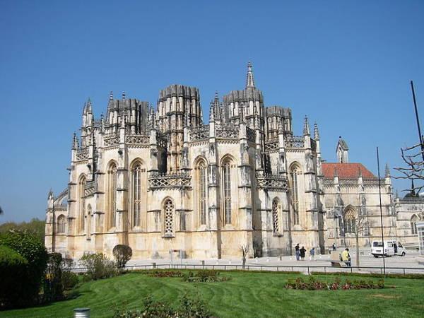 la ciudad de Batalha, en la Región Centro de Portugal