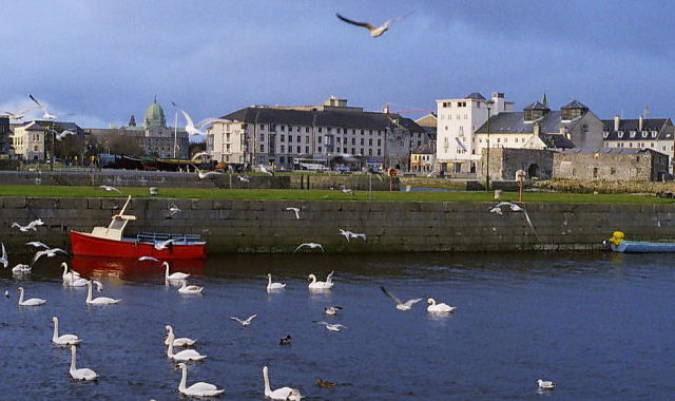 La ciudad irlandesa de Galway