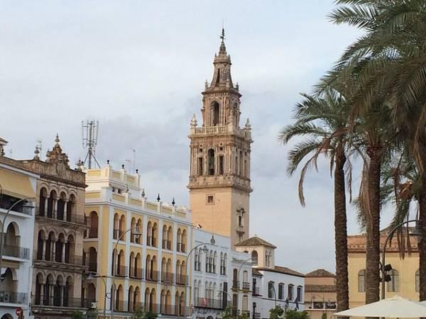 La ciudad sevillana de Écija, en Andalucia