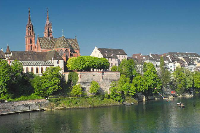 La ciudad suiza de Basilea