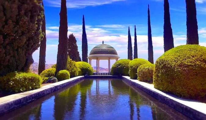 La Concepción Jardín Botánico-Histórico, en Málaga