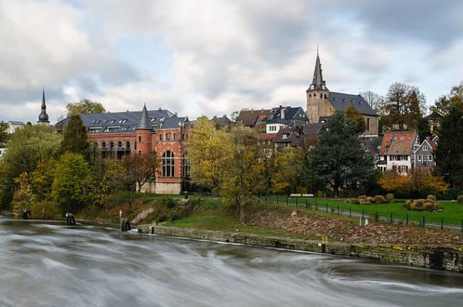 La cosmopolita ciudad de Essen, en Alemania