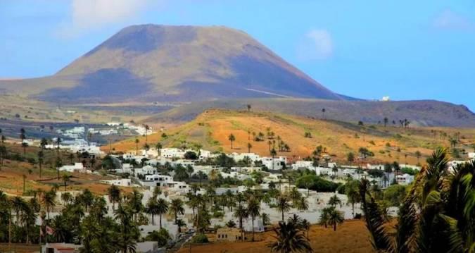 El municipio de Haría, en Lanzarote