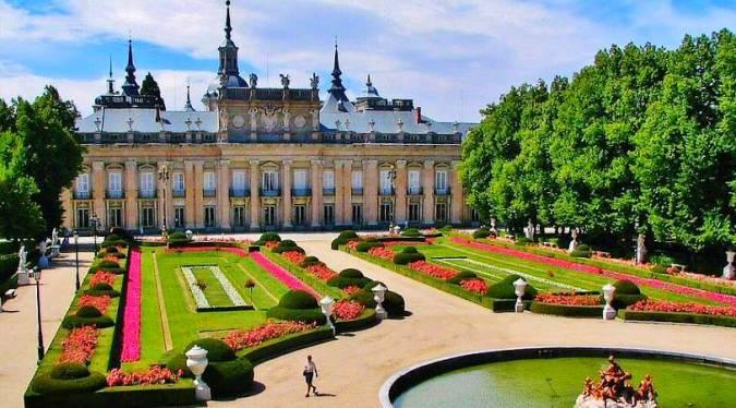 Palacio y jardines de La Granja de San Ildefonso, en Segovia